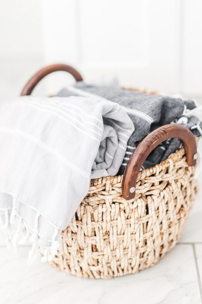 Easily turn your laundry room into a cleaning oasis. These easy tips for laundry room organization will make your small room feel like it has more space.