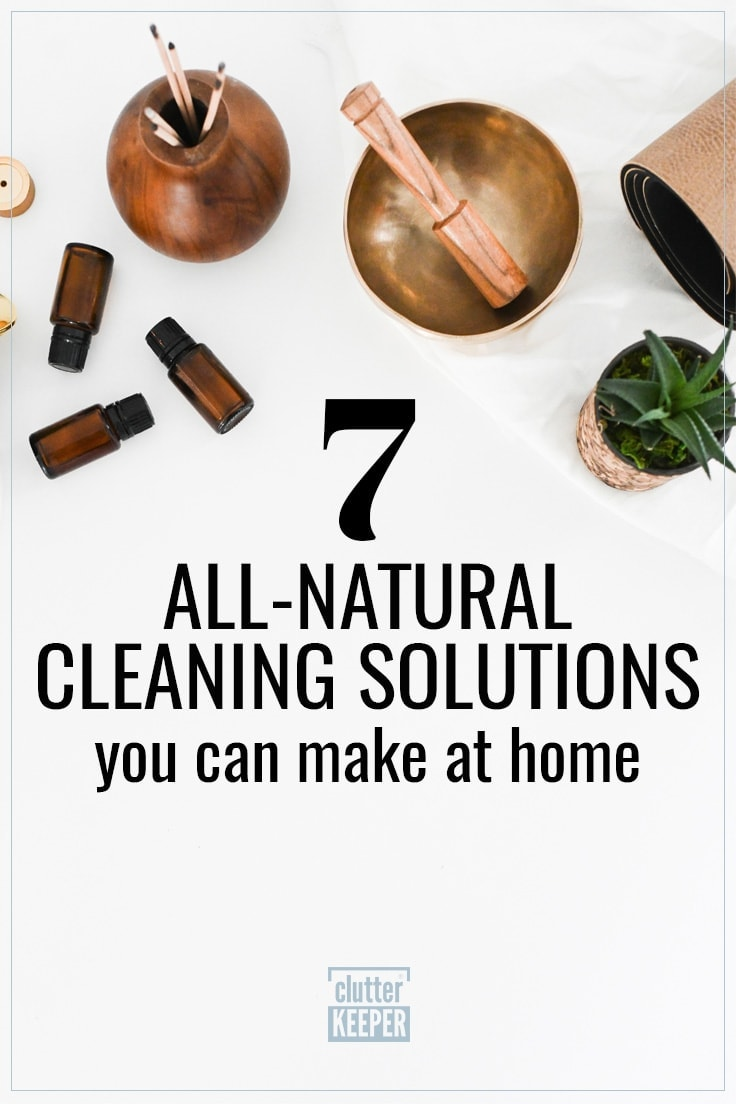 8 all-natural cleaning solutions you can make at home