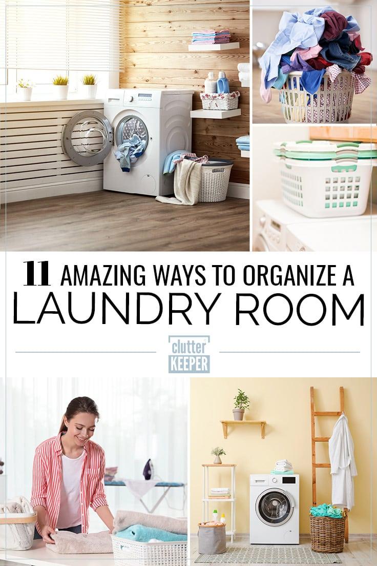 11 amazing ways to organize a laundry room