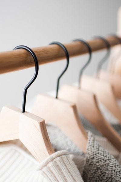 This is the ultimate guide to closet organization. If you have a small closet or just don't know how to store all your stuff, find a solution here.