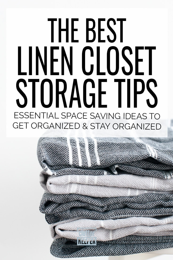 Linen Closet Storage Tips How To Make More Space Clutter Keeper