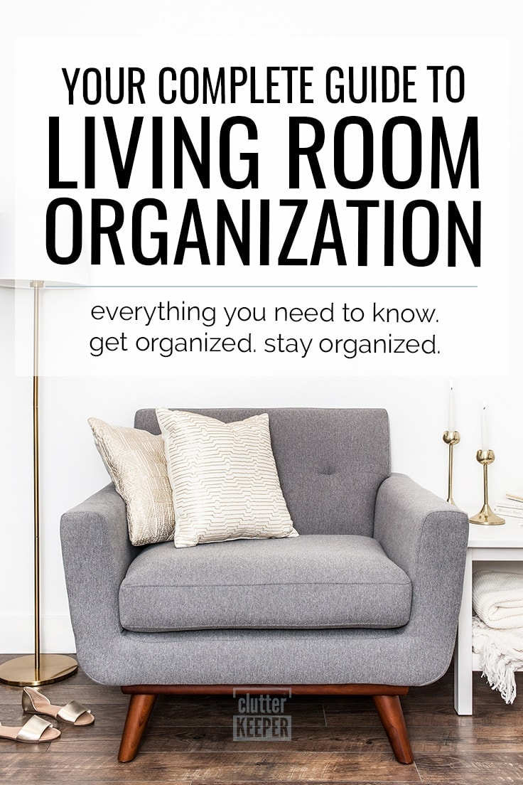 How Do You Organize Your Living Room And Keep It Organized? Living Room  Organization Is