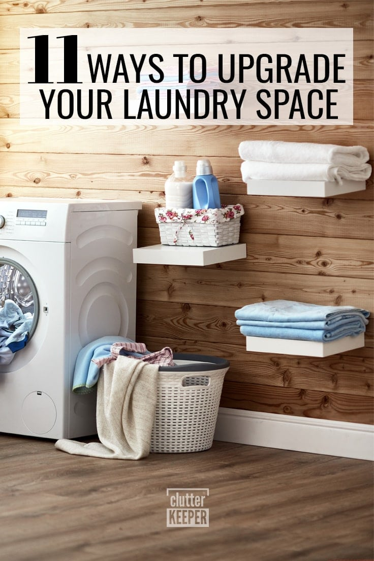 11 ways to upgrade your laundry space
