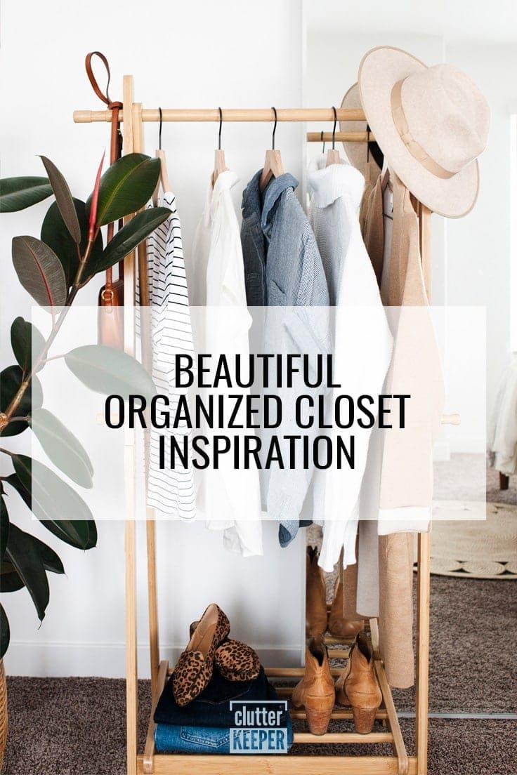 Beautiful Organized Closet Inspiration
