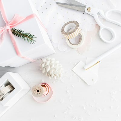 Don't allow the joy of gift-giving to become a chore. Easily create a beautiful gift wrapping station in which you will look forward to spending time! This will help you save time and stress less for events and holidays like a birthday or Christmas.
