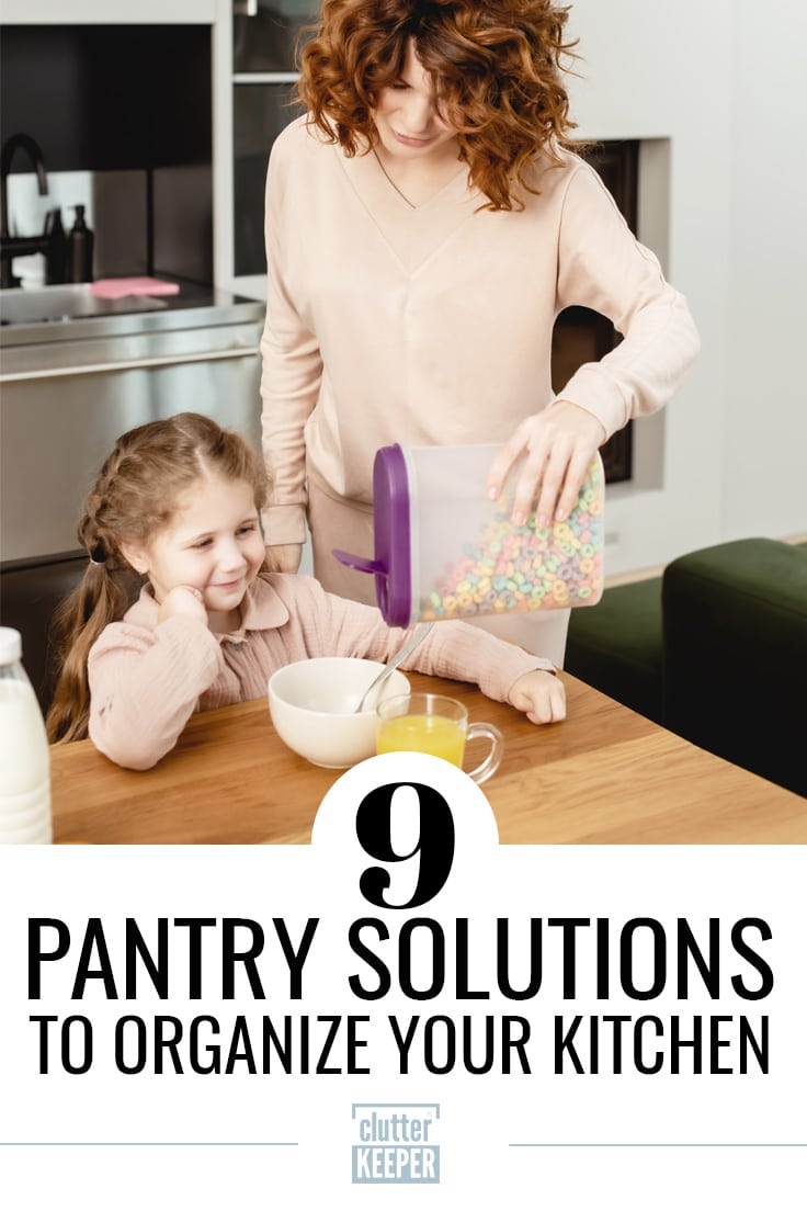 9 pantry solutions to organize your kitchen