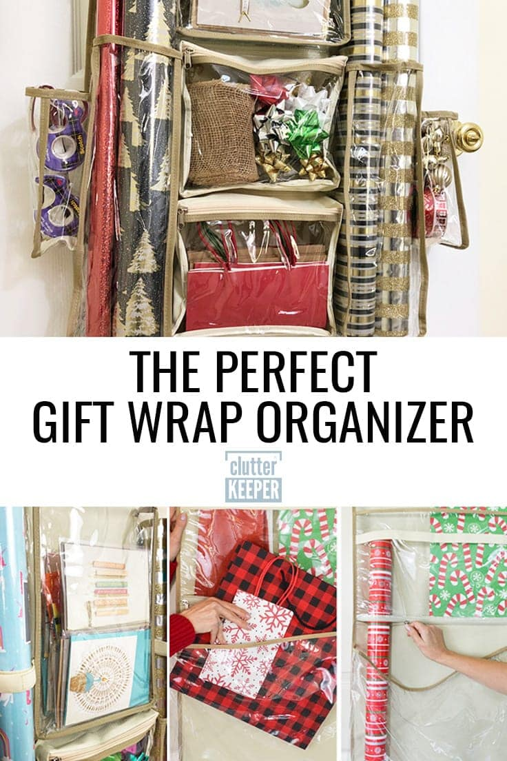 The perfect gift wrap organizer