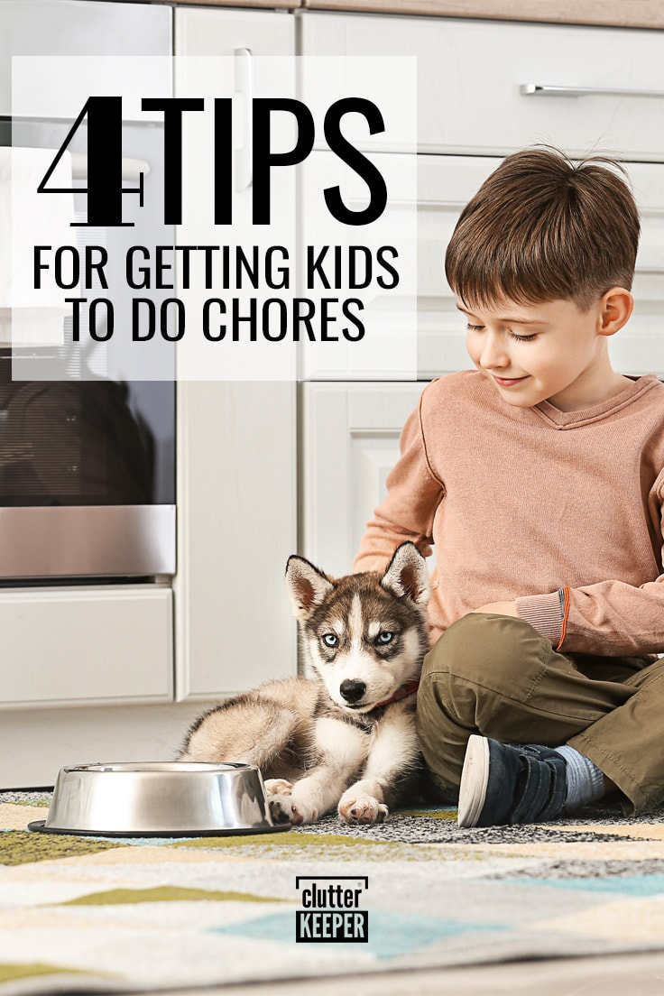 4 tips for getting kids to do chores