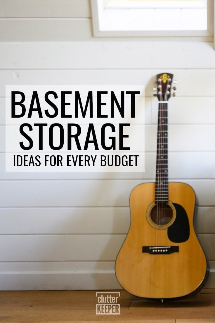 Basement Storage Ideas for Every Budget
