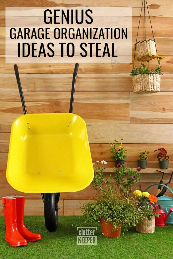 Genius Garage Organization Ideas to Steal