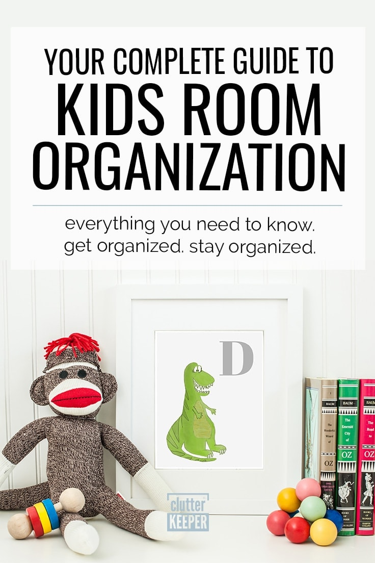 Discover step-by-step instructions for how to organize your kid's room. Find easy toy and clothes storage solutions in this kids room organization guide.