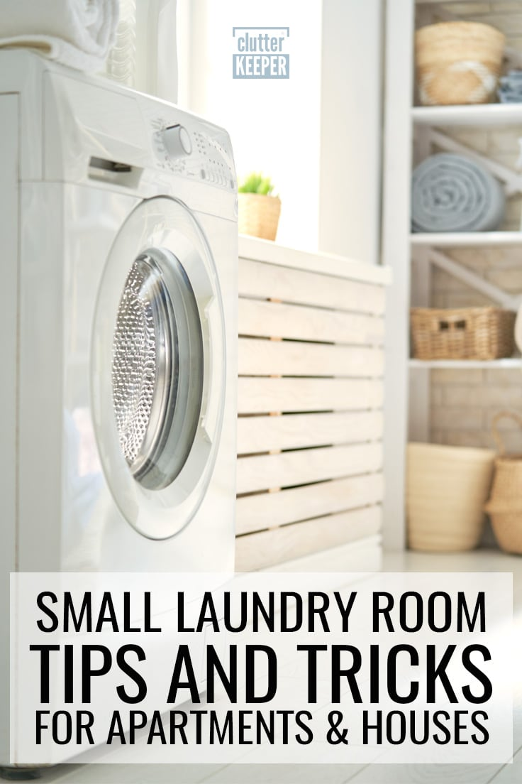 Small laundry room tricks for apartments and houses