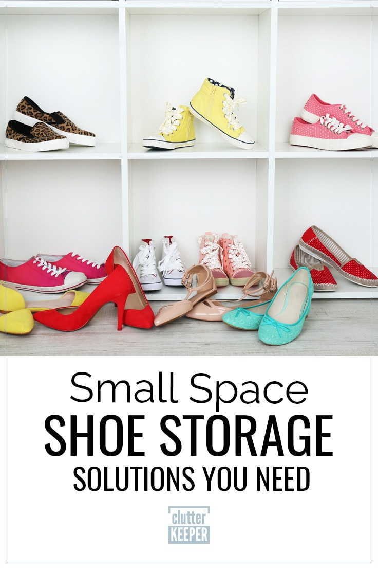 Small space shoe storage solutions you need