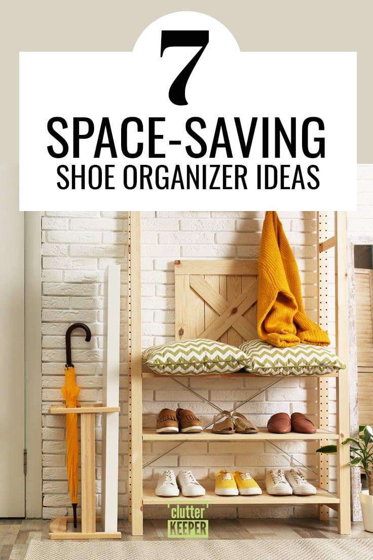 7 space-saving shoe organizer ideas