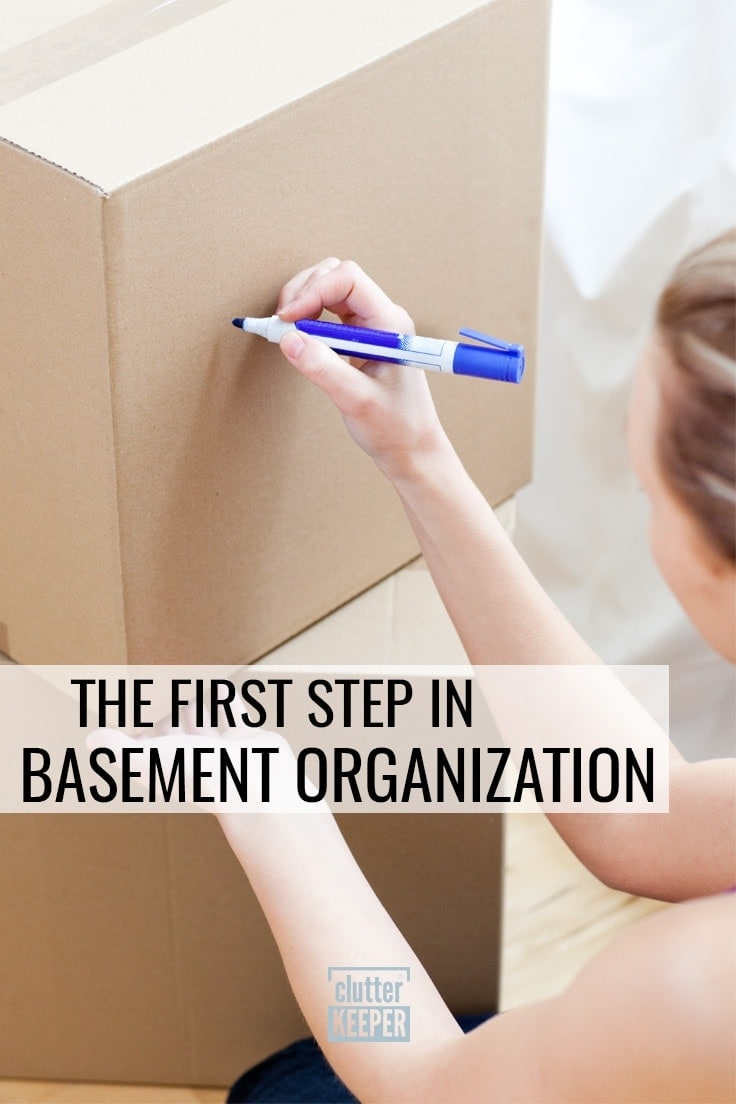 The First Step in Basement Organization