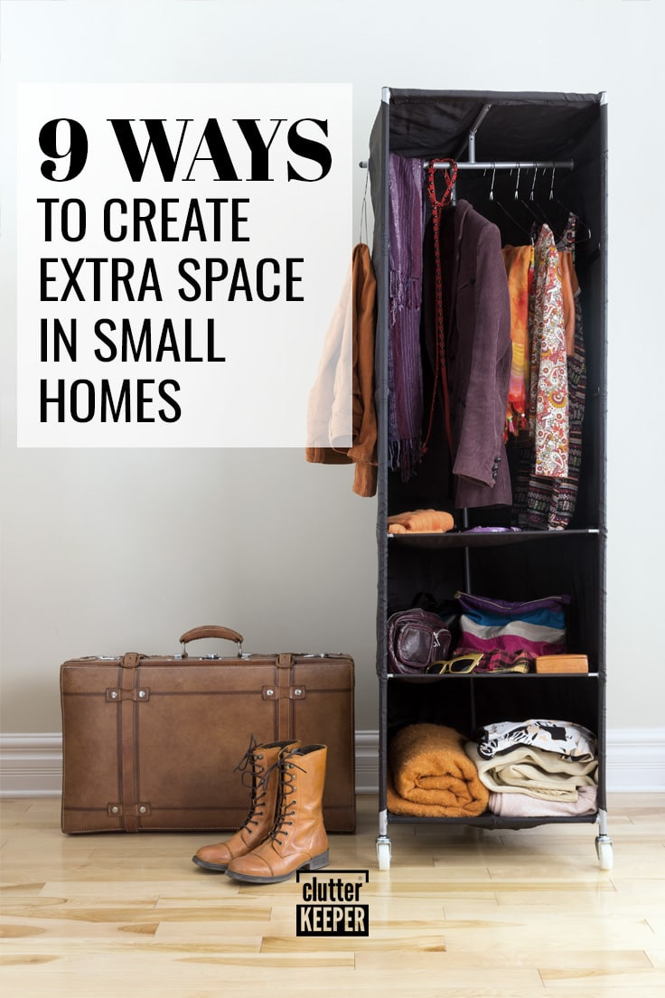9 ways to create extra space in small homes