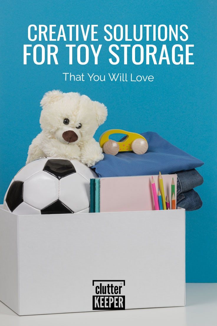 Creative solutions for toy storage.