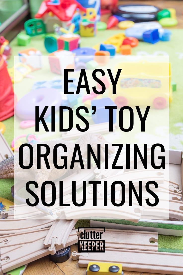 Easy kids' toy organizing solutions.