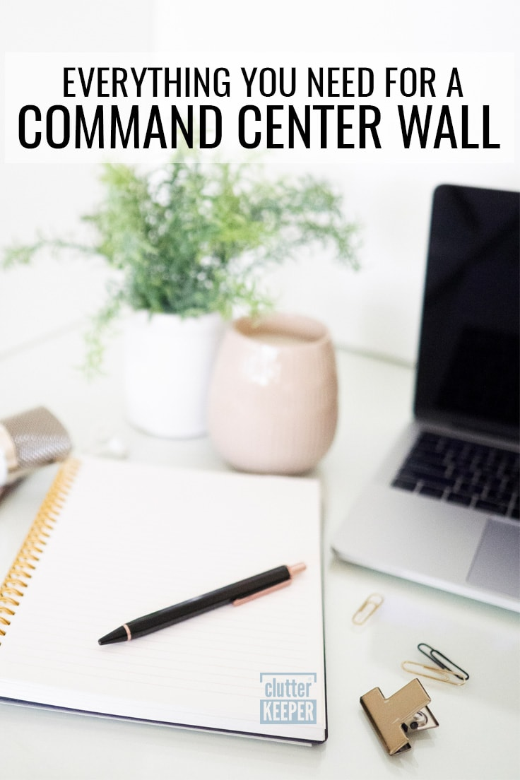 Everything you need for a command center wall.