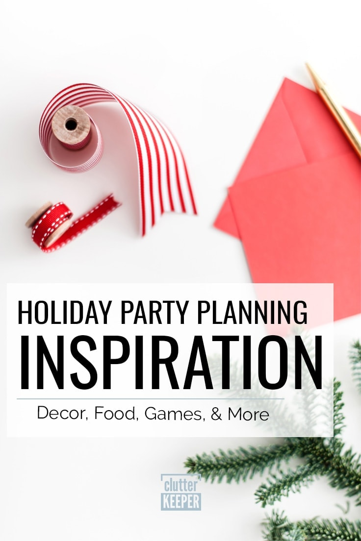Holiday Party Planning Inspiration