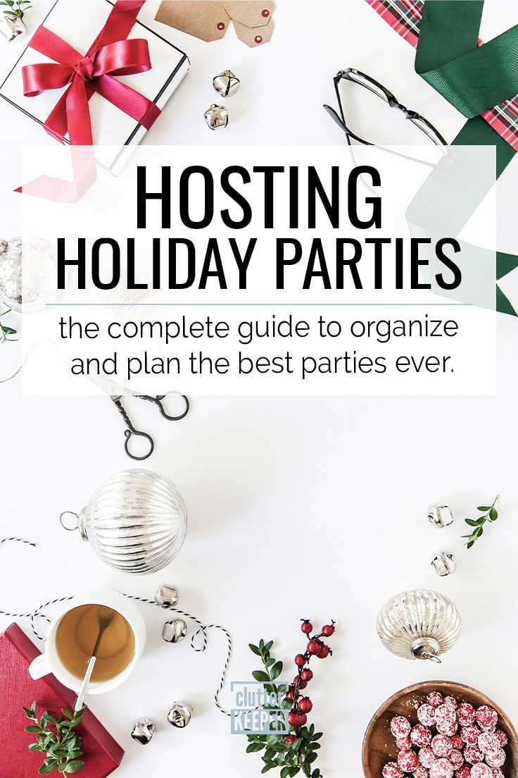 Don't let the holidays stress you out. Easily plan all your holiday parties with these tips. This guide will walk you through every step of party planning from staying on a budget to food and decorations. These ideas are easy to apply to any birthday or holiday party!