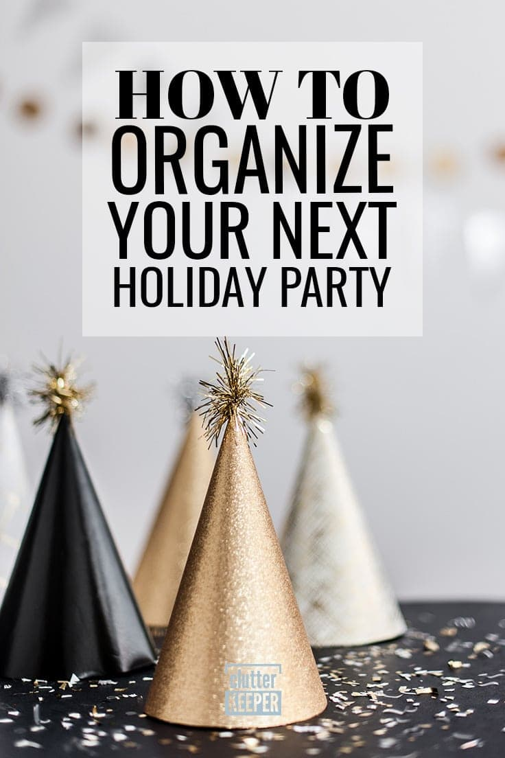 Don't let the holidays stress you out. Easily plan all your Christmas and holiday parties with these tips and ideas. This guide will walk you through every step.