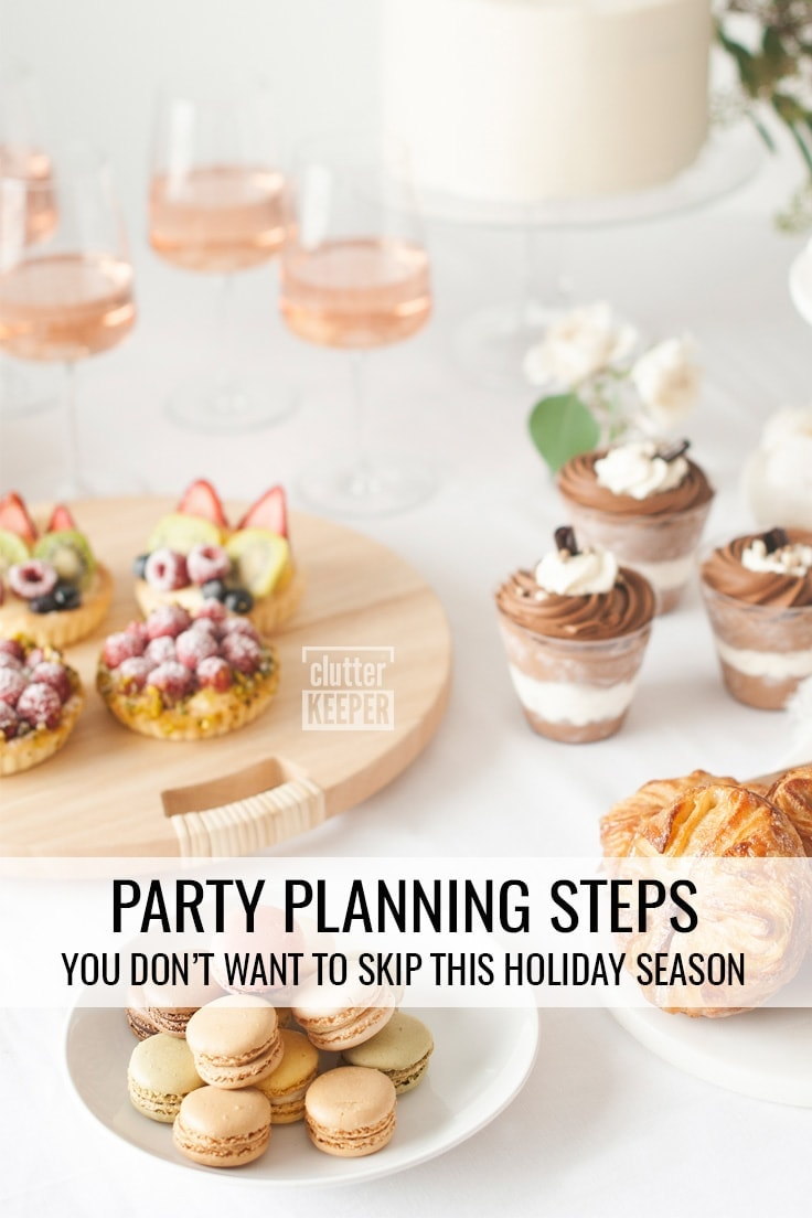 Party Planning Steps You Don't Want to Skip This Holiday Season