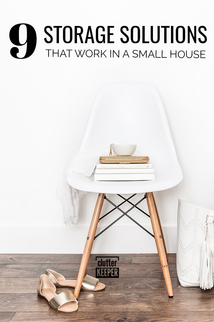 9 storage solutions that work in a small house
