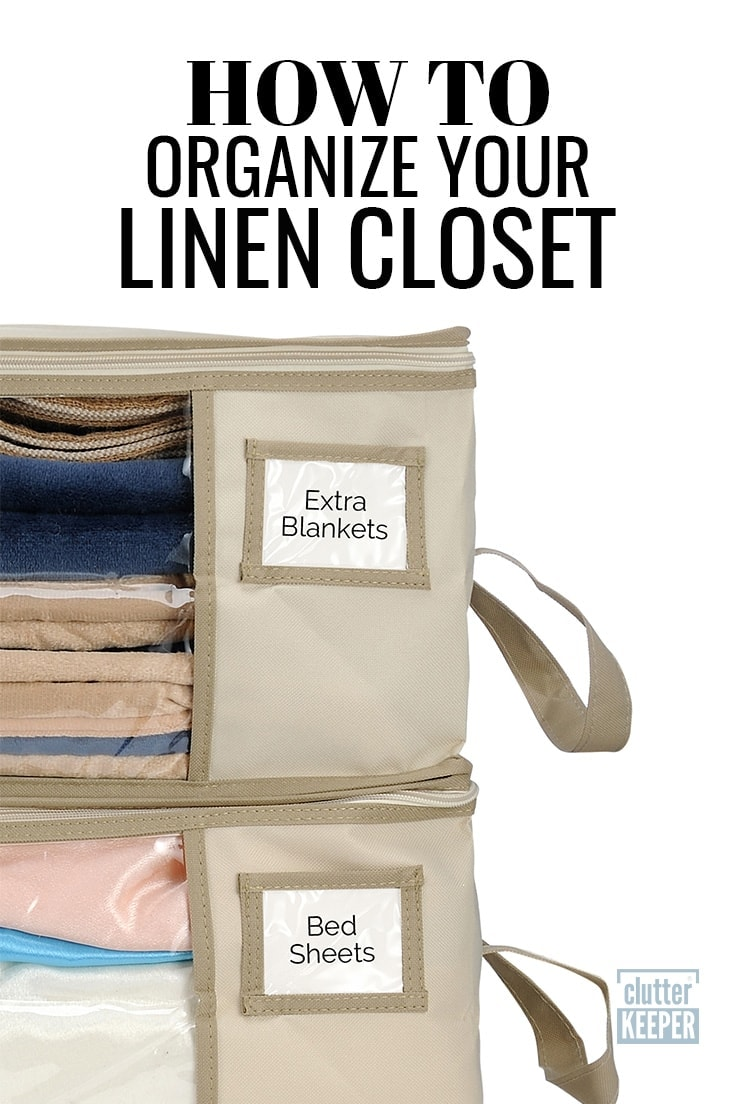Is your linen closet storage packed with bedding, bath towels and more? You need these easy organizing tips to win and create a clean closet.