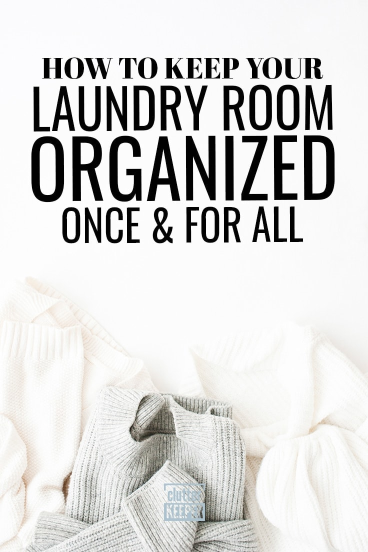 Learn everything you ever wanted or needed to know about laundry room organization. Whether you have a small laundry closet or an entire room, you'll find both DIY storage ideas on a budget and more conventional space saving tips.