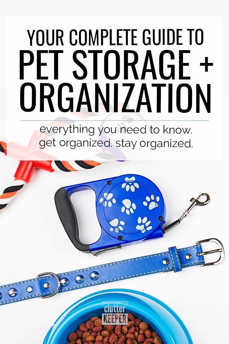 Pet Storage Your Complete Guide Clutter Keeper