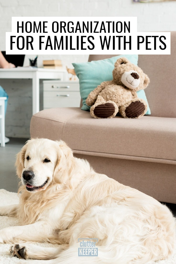 Home Organization for Families with Pets