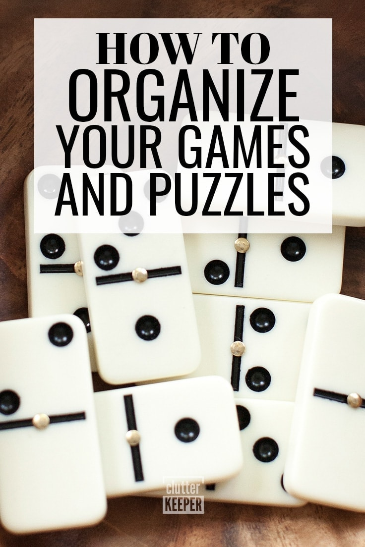 Not sure how to organize your family's board games and puzzles? In this article, you'll learn how to organize puzzles and games and keep them under control with these easy storage solutions and ideas.