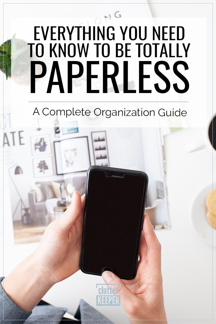 Going paperless can help you organize your home and reduce your impact on the environment. In this guide, you'll learn everything you need to know to go paperless at home and work.
