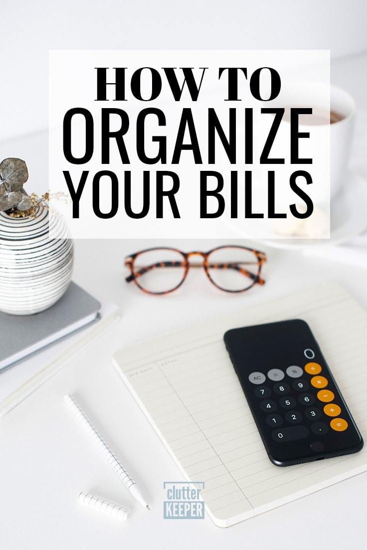 Looking for bill organization ideas? Learn how to understand and track your bills and payments and find ways to easily organize your bills using technology.