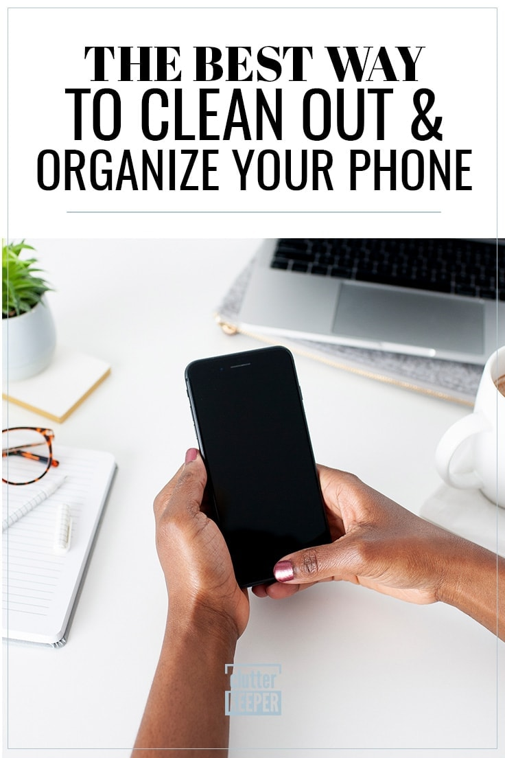 Learn how to organize your phone with this digital organization guide. Find helpful tips to clean out your cell phone and organize your apps and files.