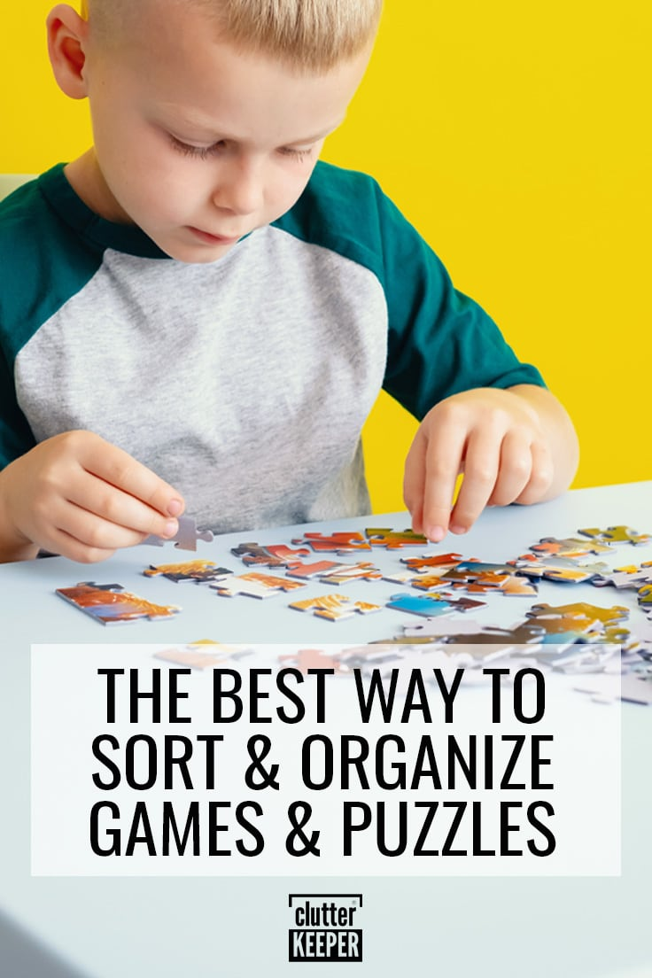 The best way to sort and organize games and puzzles.