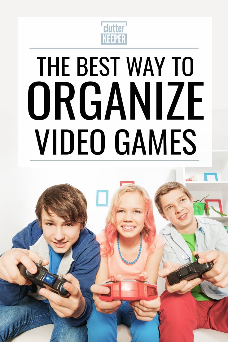 The best way to organize video games.