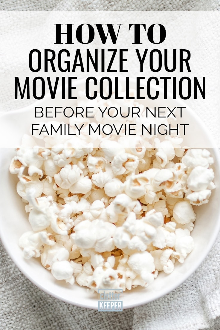 How to Organize Your Movie Collection Before Your Next Family Movie Night, close up of a bowl filled with popcorn