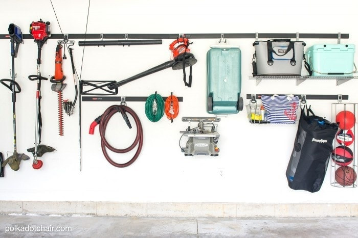 How to hang up almost anything on your garage wall