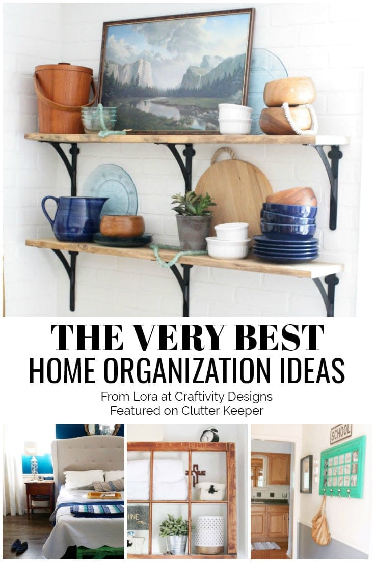 The Very Best Home Organization Ideas from Lora at Craftivity Designs Featured on ClutterKeeper.com