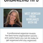 The Very Best Home Organization Ideas from Morgan at Morganize With Me featured on Clutter Keeper®