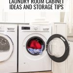 Genius laundry room cabinet ideas and storage tips