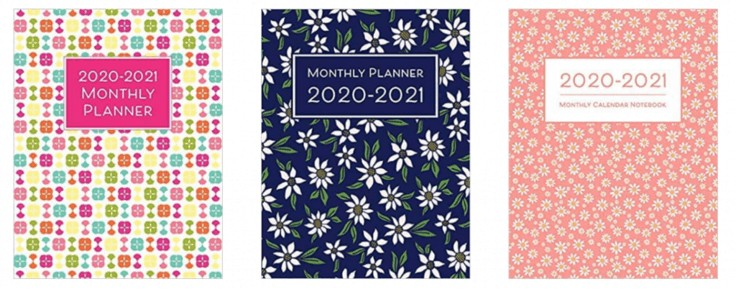 3 planners from Happy Print Press