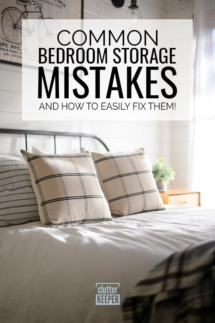 Common Bedroom Storage Mistakes and How to Easily Fix Them