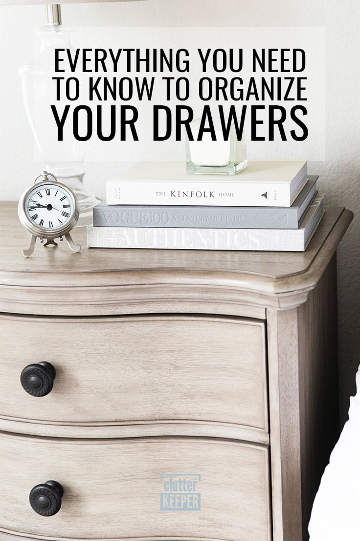 Everything You Need to Know to Organize Your Drawers
