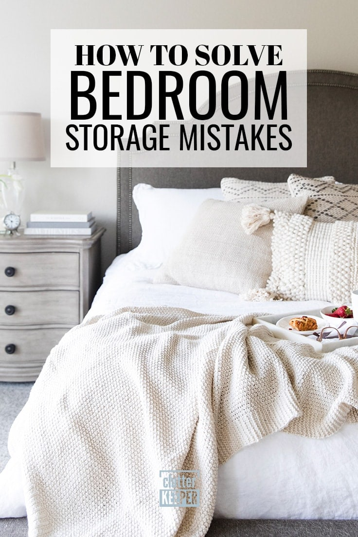 How to Solve Bedroom Storage Mistakes