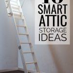 10 Smart Attic Storage Ideas