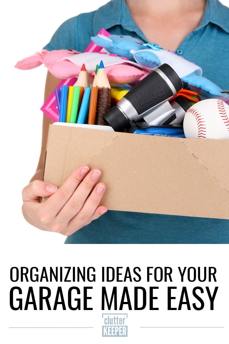 Organizing ideas for Your Garage Made Easy