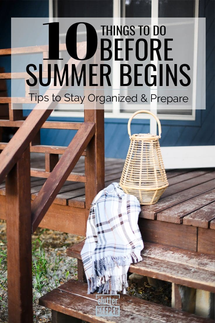 10 Things to Do Before Summer Begins